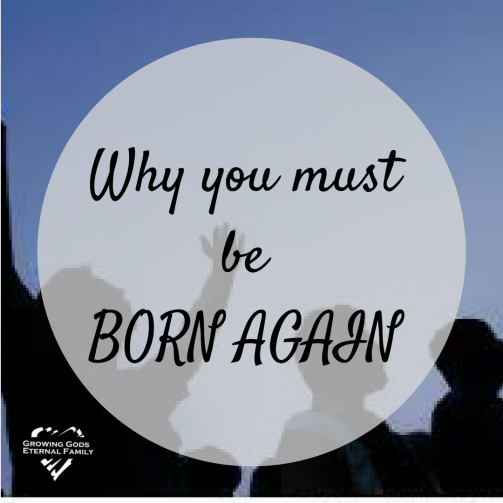 Why you must be born again 2