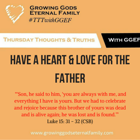Have a heart for the father
